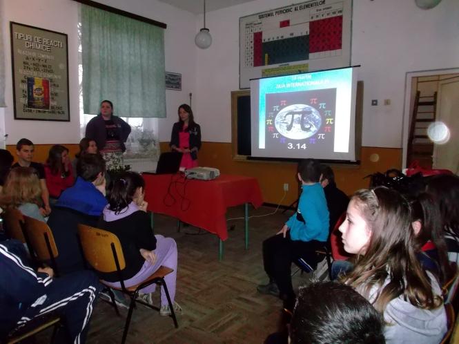 Actiunea a fost coordonata de profesor Irina Salapa