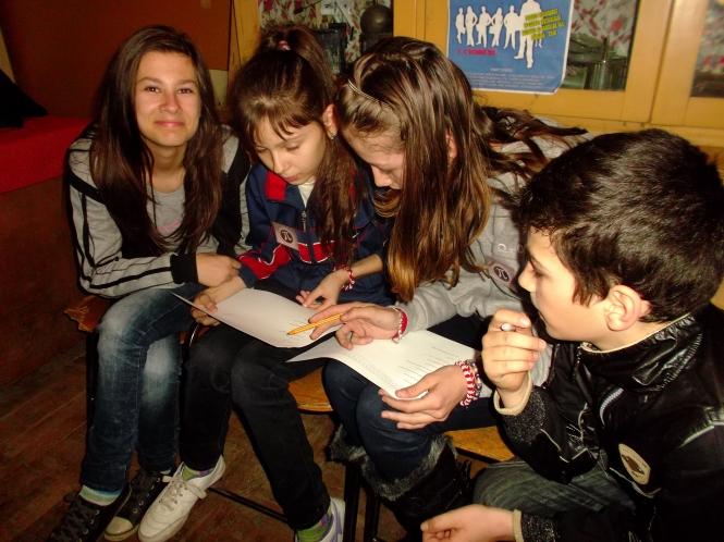 Concursul pe teme de matematica a presupus folosirea multor cunostinte